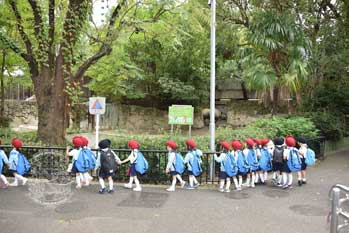 園外保育 小組 上野動物園