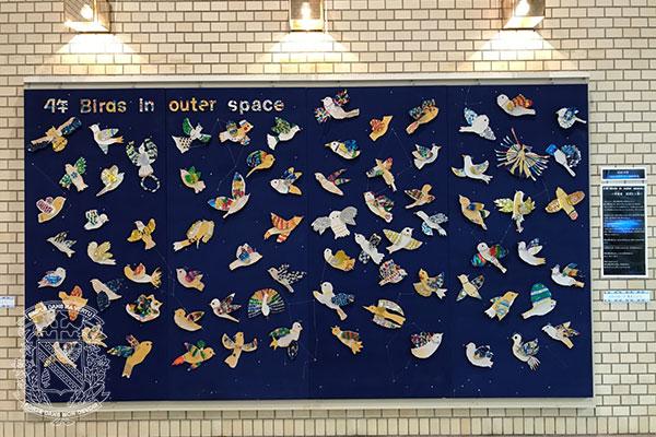 東京私立小学校児童作品展「ほらできたよ」出品