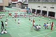 校内球技大会
