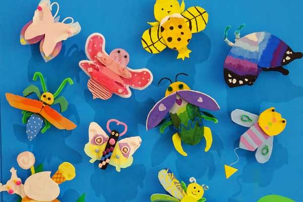 東京私立小学校作品展「ほらできたよ」